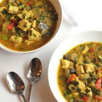 #Crockpot Vegetable Curry with Tofu