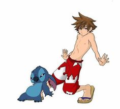 Kidna what I pictured in a Lilo and Stitch world XD