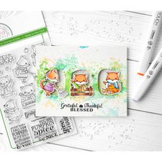 https://flic.kr/p/Ws15La | Grateful Thankful Blessed | I figured out the weather. It's not summer, it's autumn. That inspired me to create autumn card 😊 Actually, I wanted to attach the fox here, it's so cute 😍 And I dream about monkey to buy, it's cute too. Now I want to relax from interactive marathon, I'm tired of it. And this card is the most simple thing that I can do ♀️😆  #znatka2007 #znatka2007cards #ShinHanArt #touchmarker #touchtwinbrushmarkers #touchmarker #снежнобелоефото…