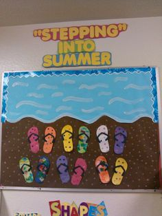 """""""Stepping into Summer"""" board"""