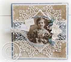 Jenine's Card Ideas: Vintage Xmas Mal 6002/0327