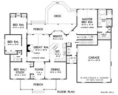 **12-27-17** basement_stairs Floor Framing, Country Style House Plans, Thing 1, Roof Plan, Barbie Dream House, Farmhouse Plans, Great Rooms, Floor Plans, Master Bath