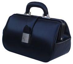 7e5d7d1b4c RA Bock Fine Leather Doctor Bag - Small (Black) RA Böck Fine Leather Doctor