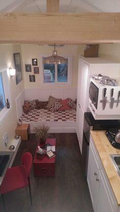 The Dorian Tiny House on Wheels: One Level Tiny Living Photo