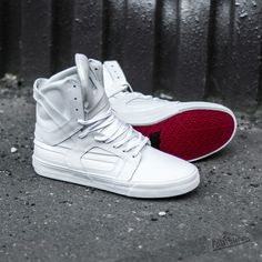 ff0349fc1d Supra Skytop II White/ Red-White at a great price $179. Fresh Summer  Sneakers