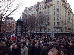 Paris France World Together on 11 January 2015 #jesuischarlie #libertexpression #freespeech
