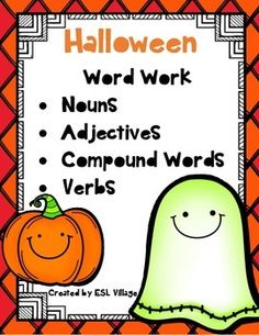 october halloween vocabulary challenge word work bundleas we know students need - Halloween Vocab Words