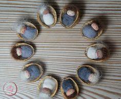 Knecht Ruprecht - OOAK Waldorf Dolls - Handgefertigte Stoffpuppen nach Art der Waldorfpuppe
