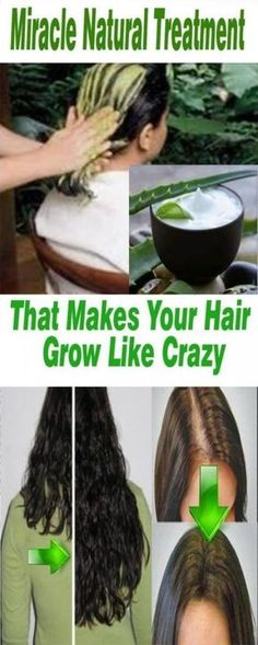 Natural Treatment That Makes Your Hair Grow 100% Results