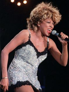 Tina Turner in Versace.  Wildest Dreams Tour.