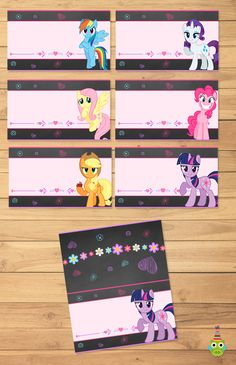 My Little Pony Party Printables