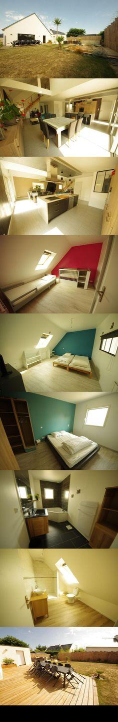 maison 3 pieces 67 m2 SAINT PIERRE QUIBERON Cote sauvage PORTIVY