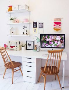 workstation | workspace | home office room | desk | work from home | student | home business | craft