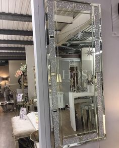 """""""Sparkle Diamond Large Wall Mirror"""" For prices and product information visit our website today! SHOP NOW > www.houseofsparkles.co.uk Interest FREE credit now available on orders over 300 call our team on 01184677806"""