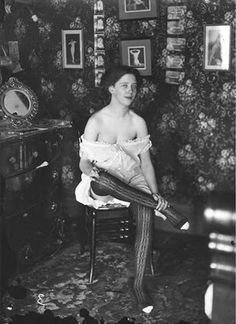 lovely New Orleans prostitute (early 1900's)