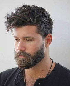25 New Men's Hairstyles + Haircuts For Men Top Haircuts For Men, Cool Haircuts, Hairstyles Haircuts, Cool Hairstyles, 2018 Haircuts, Popular Hairstyles, Party Hairstyles, Stylish Haircuts, Textured Hairstyles