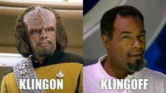 Klingoff. Haha!