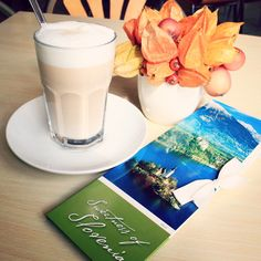 Coffee latte in Slovenia, Marchè Cafe and Reastaurant