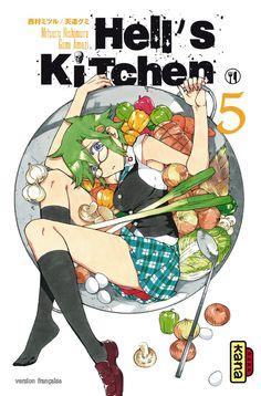 Hell\'s Kitchen Manga   Manga and AnimeXD   Pinterest   Manga ...