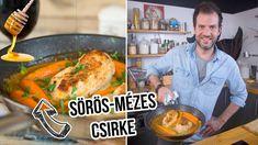 Barna sörös-mézes csirkemell Good Food, Lunch, Chicken, Meat, Kitchen, Youtube, Street, Christmas, Xmas