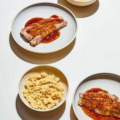 🍴Sumeček s jáhlami a zázvorovou omáčkou recept – rychle, zdravě a jednoduše 🍴 Jimezdrave.cz Vegetables, Vegetable Recipes, Veggies
