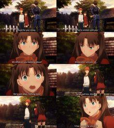 Fate/ stay night: Unlimited Blade Work, Oh my god sooo cute~~~