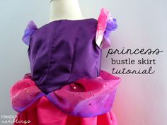 Tutorial: Princess Dress Bustle Skirt