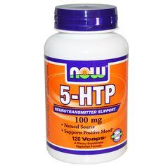 Now Foods, 5-HTP, 100 мг, 120 капсул в растительной оболочке