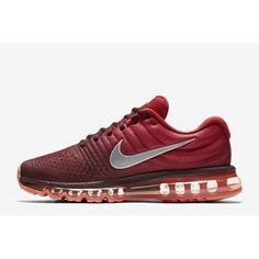 best sneakers 355f7 88bcb Kjøp Nike Air Max 2017 - Billige Herre Nike Air Max 2017 Bright Rod Rod Salg