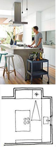 Casinha colorida: Vai projetar ou reformar a sua cozinha? Veja dicas essenciais