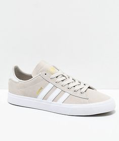 b64722fc3b79 adidas Campus Vulc II Cream   White Shoes