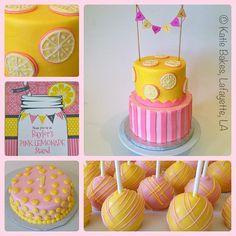 Pink Lemonade Party! www.katiebakesla.com www.facebook.com/KatieBakesLA