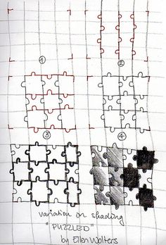 Tangle Tutorials #3 - a gallery on Flickr