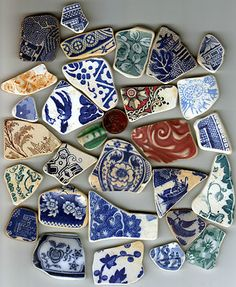 Sea pottery More beauties for me to play with!!