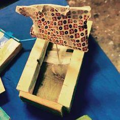 Holzboot aus dem KinderMachWerk