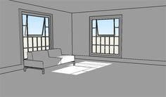 """tsukiyono: """" A long ass beginner level tutorial for all of you comic folks who want to start using sketchup for your backgrounds but don't know how to get..."""