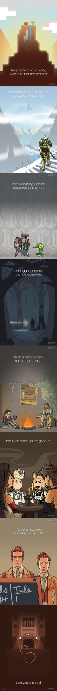 Video Game Life Lessons