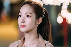 Park Min-young had so much fun filming 'What's Wrong With Secretary Kim?' that she wants to star in more rom-coms. Park Min Young, Asian Actors, Korean Actresses, Park Seo Joon, Moonlight Drawn By Clouds, Lee Young, Do Bong Soon, Weightlifting Fairy Kim Bok Joo, Private Life