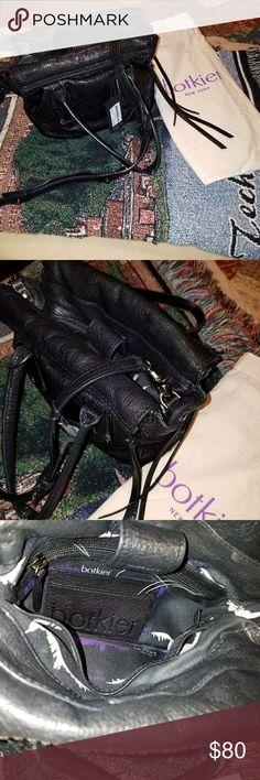 Botkier black leather satchel with dust bag Botkier black leather satchel with dust bag Botkier Bags Satchels