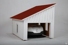 hus till robotgräsklippare - Google Search Robot, Entryway, Garage, Outdoors, Gardening, Google Search, House, Ideas, Home Decor