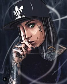 This is some epic art! 😱😍 you are incredibly talented! 🙌thank you so much! I'm in awwwwe Lowrider Art, Arte Dope, Dope Art, Arte Black, Black Art, Epic Art, Amazing Art, Dope Kunst, Aztecas Art