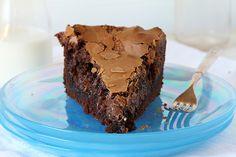 Chocolate Ooey Gooey Cake #cake #chocolate