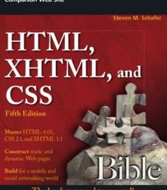 Html Xhtml And Css Bible 5th Edition PDF