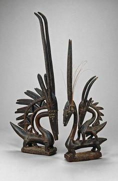 Mali - Bamana Antelope (Chiwara) Headdress (Art Institute of Chicago)