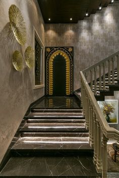 A Regal Moroccan Themed Bungalow Interior | Creations - The Architects Diary