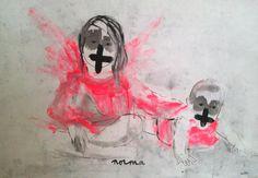 AURÉLIE MANTILLET Trinidad y Crucifixión