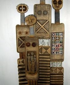 CARVED TOTEMS by Robyn Gordon