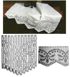 Výsledok vyhľadávania obrázkov pre dopyt miria croches e pinturas Filet Crochet, Crochet Borders, Basic Crochet Stitches, Thread Crochet, Crochet Trim, Love Crochet, Irish Crochet, Beautiful Crochet, Crochet Doilies