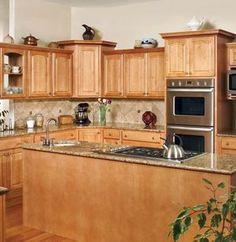 Blind corner in upper cabinet. Good solution. | For the ...