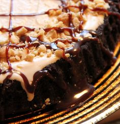 Jo and Sue: Salted Peanut Butter & Honey Ice Cream in a Chocolate Cake Tart
